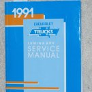1991 Service Manual Chevrolet Lumina APV Van