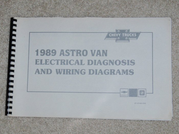 1989 Itasca Wiring Diagrams