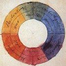 GoetheFarbkreis Antique Colour Wheel