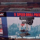 Kingcraft 9 Speed Drill Press NEW Loaded with features Sealed in Original Packaging-Fully Functional