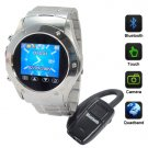 Galactus - Cellphone Watch With Video Camera + Media Player  [TKE-CVSL-M49]