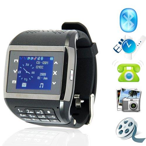 Jaguar - Quad Band Touchscreen Mobile Phone Watch + Keypad  [TKE-CVSL-M48]