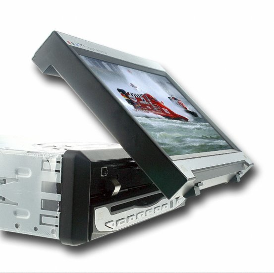 7-Inch in-dash TFT LCD Monitor (16:9) with DVD Player  [TKE-CVEZJ-6078]