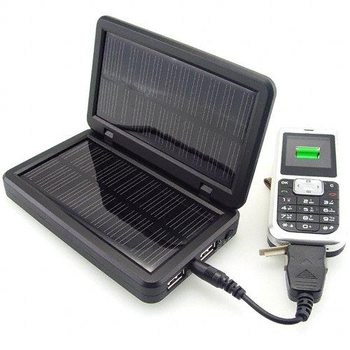 Solar Charger for Portable Electronics - Green Power  [TKE-CVSCE-7400]