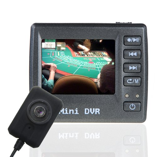 Button Pinhole Video Camera + DVR - Great Hidden Security  [TKE-CVSB-963]