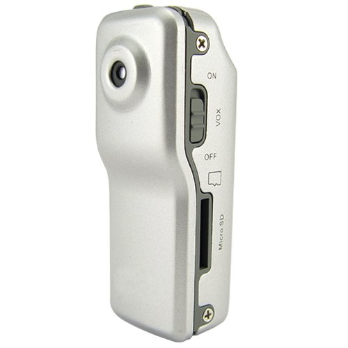 Mini DV Camera - World's Smallest Hi-Res Camcorder (18 FPS)  [TKE-CVSA-J07]