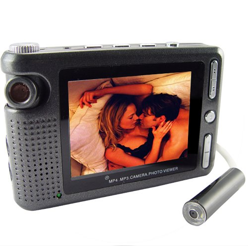 Wired Pinhole Videocamera with DVR - Mini Hidden Extension Camera  [TKE-CVSD-J03]
