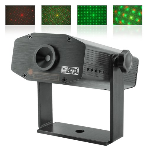 Automatic Moving Laser Effects Projector with Sound Activation  [TKE-CVLC-G131]