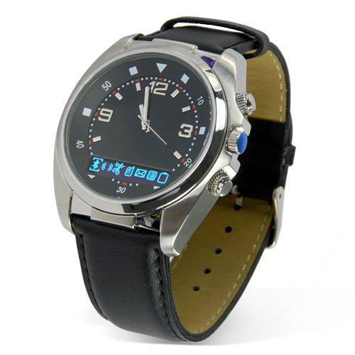 Bluetooth Watch with Vibration and Caller ID Display  [TKE-CVFM-B08]