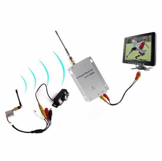 1.2GHz Wireless Transmitter + Receiver - 80M Range  [TKE-WFC-007SK]