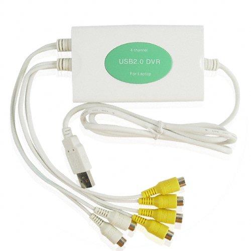 Powerhouse USB DVR- 4 Channel Video + 2 Channel Audio  [TKE-CVSA-411]