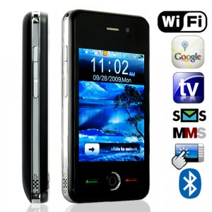 Thunder - Quadband Dual SIM Wifi Touchscreen Worldphone  [TKE-CVCN-M60]