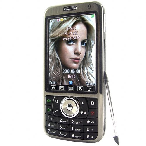 Quad Band Touchscreen Cell Phone - Dual SIM + Large Display  [TKE-CVSCY-9400]