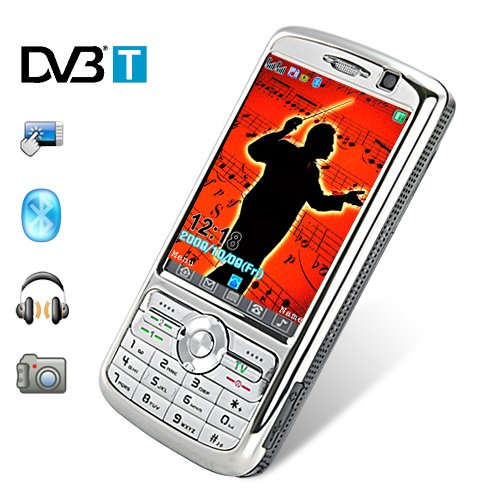 Maestro - 3 Inch Touchscreen Dualband Dual-SIM Cellphone (DVB-T)  [TKE-CVJA-M53]