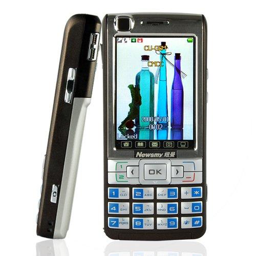 Unlocked Touchscreen Dual SIM Dual Standby Cellphone (Coffee)  [TKE-CVFV-M06-COFFEE]