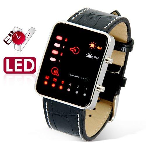 The Singularity - Japanese Multicolor LED Watch  [TKE-CVIZ-G86]