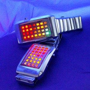 The Continuum - Japanese Multicolor LED Watch  [TKE-CVIZ-G85]