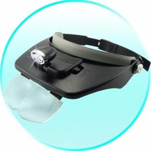 Head Visor Magnifying Glasses  [TKE-CVSB-976]
