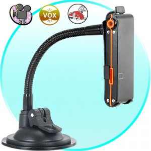 Mini Video Recorder with In-Car Mounting Stand  [TKE-CVFR-DV21]