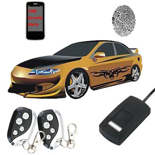 Fingerprint Car Security System with GSM Alerts  [TKE-CVKP-BG04]