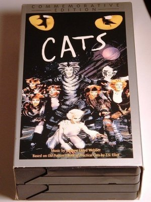 CATS Commemerorative Edition Double VHS