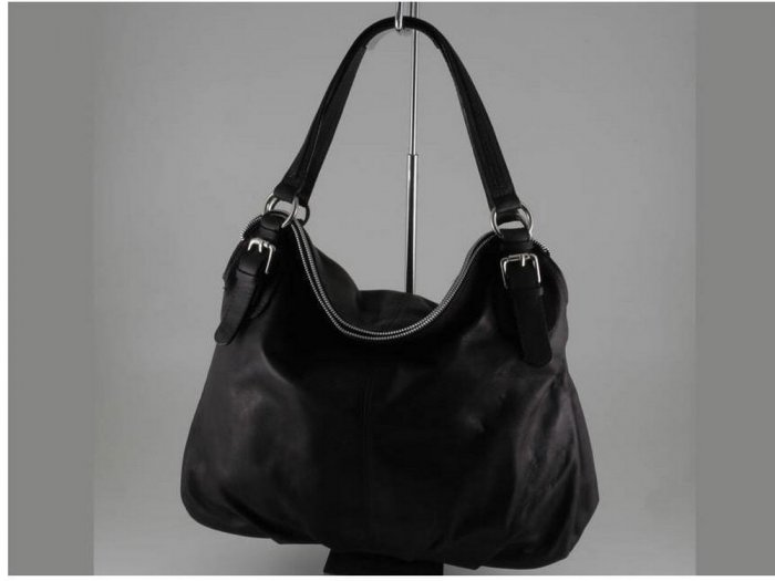 Italian High Quality Sauvage Leather Lady Bag -Luana