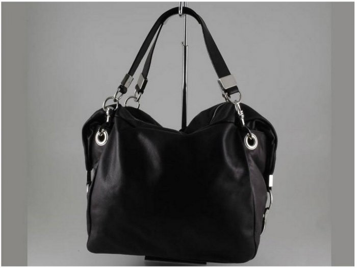 Italian High Quality Sauvage Leather Lady Bag -Fiorella