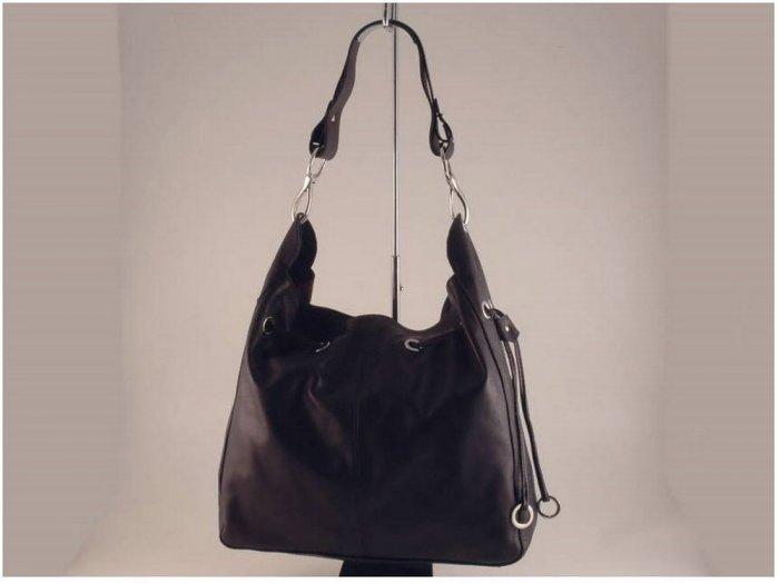 Italian High Quality Sauvage Leather Lady Bag -Carlotta