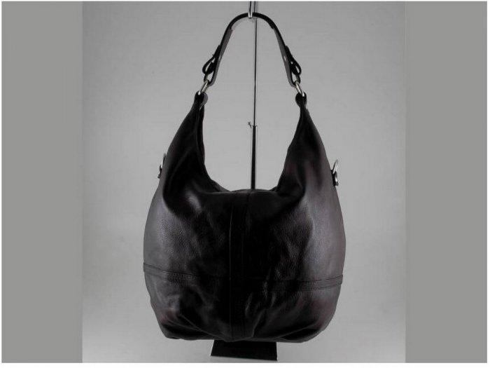 Italian High Quality Sauvage Leather Lady Bag -Barbara