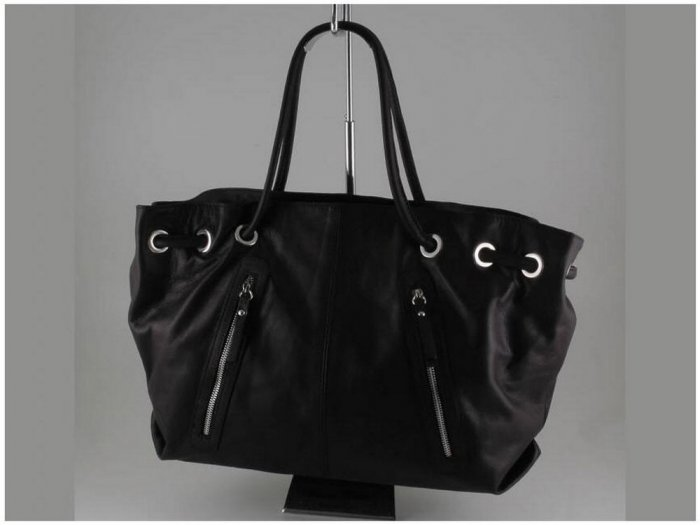 Italian High Quality Sauvage Leather Lady Bag - Aida