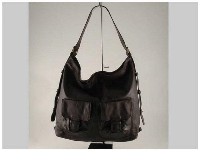 Italian High Quality Sauvage Leather Lady Bag -Valery