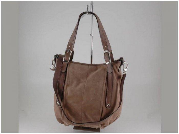 Italian High Quality Seude Leather Lady Bag - Letizia