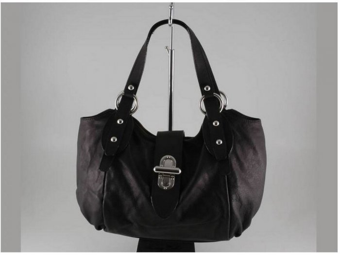 Italian High Quaity Sauvage Leather Lady Bag - Alba