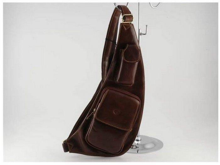 Italian High Quality Calfskin Leather WaistBag -Cortina
