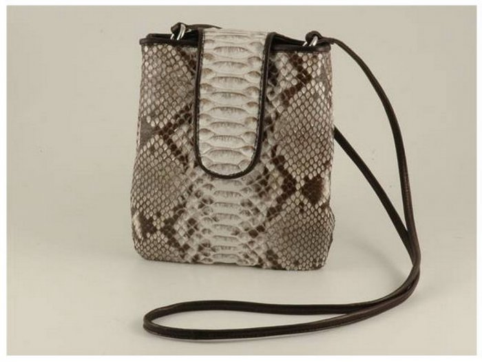 Italian High Quality Python Leather Unisex Bag - Steve