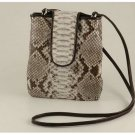 Italian High Quality Python Leather Unisex Bag - Steve