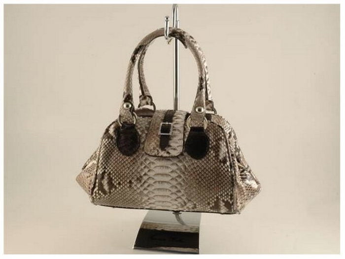 Italian High Quality Python Leather Lady Bag - Regina
