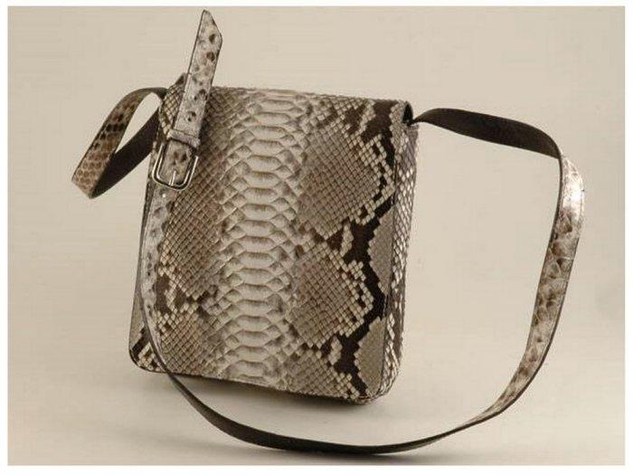 Italian High Quality Python Leather Unisex Bag - Dylan