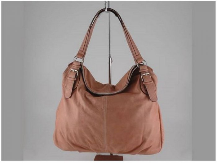 Italian High Quality Sauvage Leather ShoulderBag -Luana