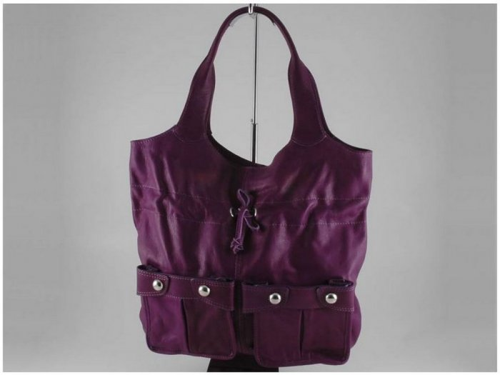 Italian High Quality Sauvage Leather ShoulderBag -Laura