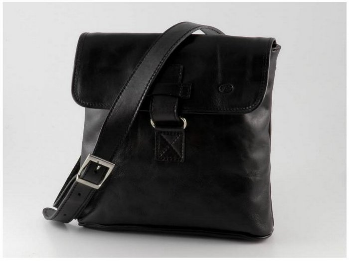 Italian High Quality Calfskin Leather Bag - Andrea
