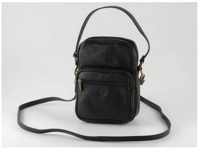 Italian High Quality Sauvage Leather ShoulderBag - Mike