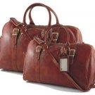 Italian High Quality Leather Travel Set - Berlin