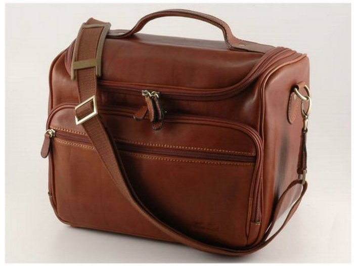 Italian HighQuality CalfskinLeather BeautyCase-Forziere