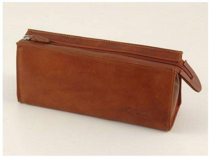 Italian High Quality Calfskin Leather Beauty Case