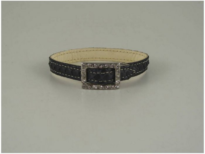 Italian High Quality Python Leather Bracelet