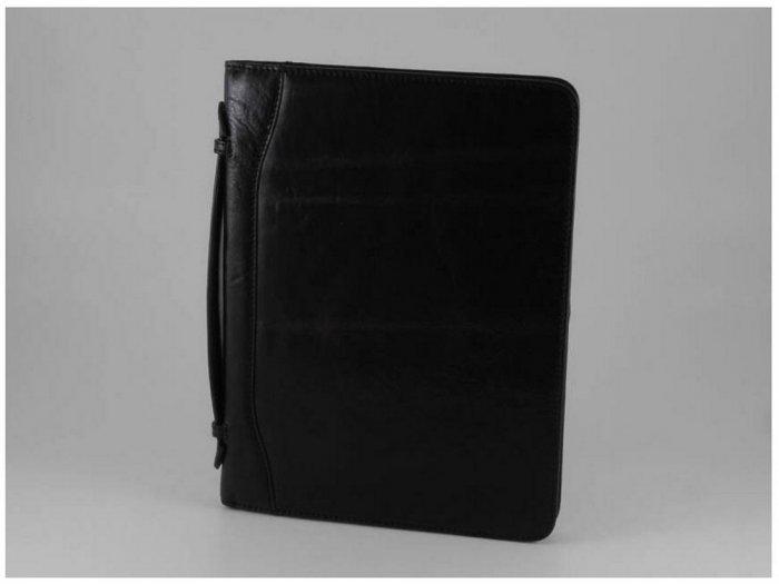 Italian High Qlty Calfskin Leather Document Case-Nerone
