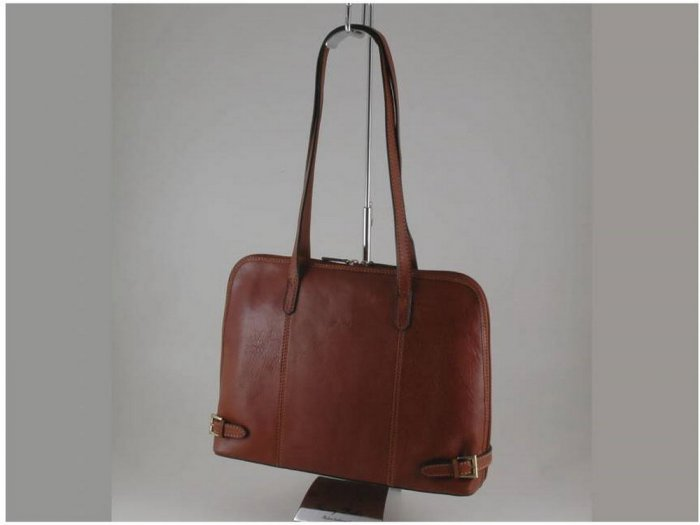 Italian High Quality Calfskin Leather Briefcase-Imperia