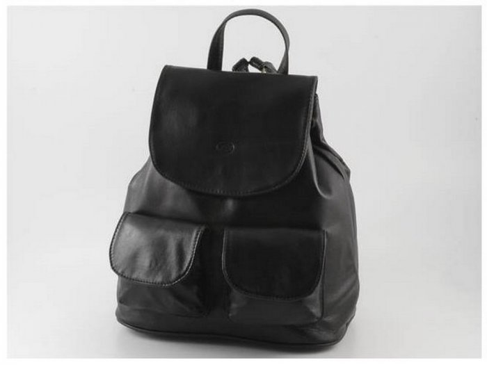 Italian High Quality Sauvage Leather Backpack - Seoul