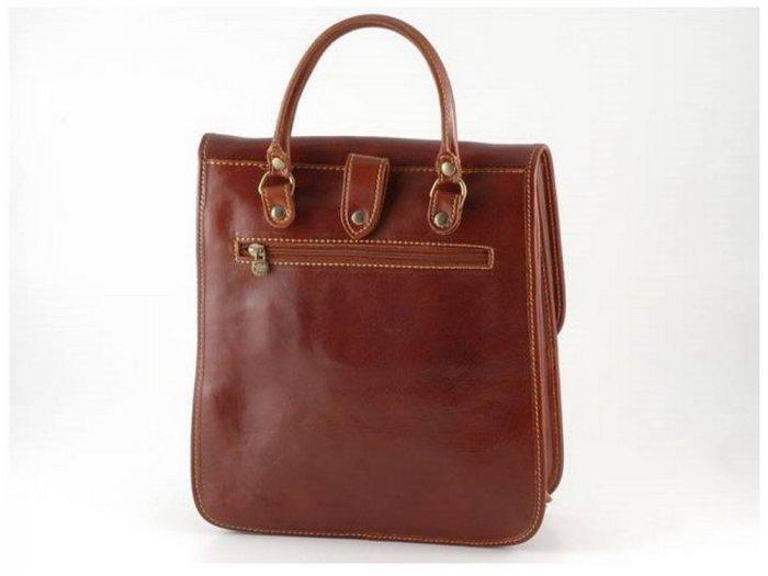 Italian High Quality Calfskin Leather Backpack -Patrick